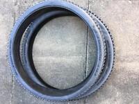 2 mountain bike tyres Schwalbe Fat Albert