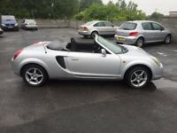 TOYOTA MR 2 LOW MILES NEW MOT CLEAN CAR DRIVES ALL GOOD