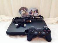 PS3 console 340gb & controller