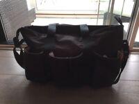 SKIP HOP Duo Double Signature Bag (Black)