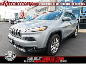 2016 Jeep Cherokee Limited 4X4 |Leather|Navigation