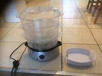 Cookworks steam cooker