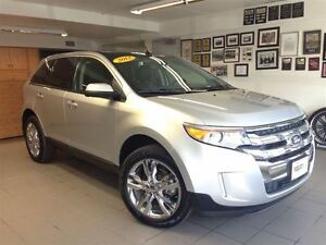 2013 Ford Edge SEL LEATHER/ROOF/1 OWNER LOCAL TRADE!!!