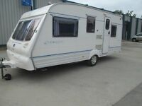 BAILEY RANGER 500/5 FIVE BERTH TOURING CARAVAN! VERY CLEAN AND WELL EQUIPPED.