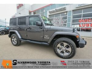 2018 Jeep Wrangler JK Unlimited Sahara Unlimited Sahara, Silv...