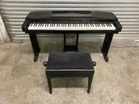 FREE DELIVERY YAMAHA CLAVINOVA CVP-50 DIGITAL PIANO & STOOL GOOD CONDITION
