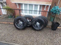 jeep wrangler new tyres and wheels
