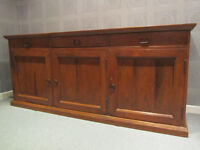 Sideboard with 3 cupboards and 3 draws in Sheesham wood