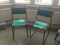 Retro Chairs - pair of Vintage 1970's chairs