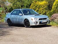 Subaru impreza wrx 52 plate