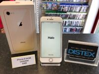 Apple iPhone 8 64GB Unlocked Gold Boxed WARRANTY