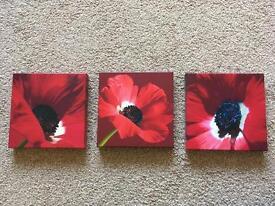 Flower canvas prints for sale