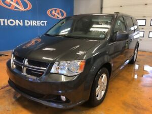 2018 Dodge Grand Caravan Crew LEATHER/ POWER DOORS & LIFTGATE...