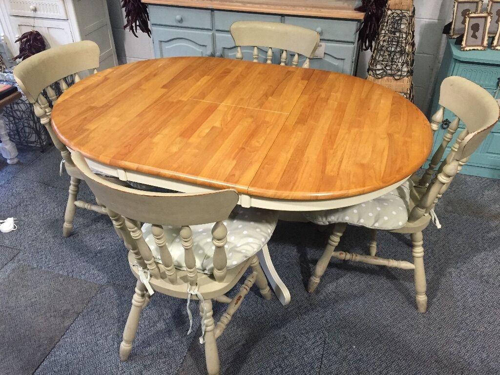 Dining Sets Tuscany Solid Wood Large Dining Set Table 6 Chairs: Cotswold Solid Wood Round Extending Dining Table Single