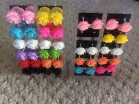 Earrings 21 pairs £4