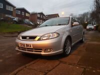 SOLD - Chevrolet Lacetti 1.8 Sport, FSH, 28500 miles, leather, aircon - SOLD