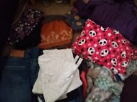 Large bundle girls clothes age 7