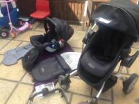 Graco Symbio travel system pushchair