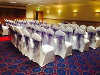 Chair covers and sashes for hire from £1