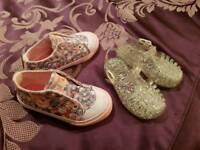 Girls toddler footwear infant size 5