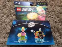 Lego Dimensions Krusty Simpsons Fun Pack