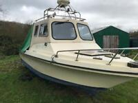21ft fishing boat project