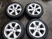 Peugeot 307 Facelift 16 Inch 4 Stud Alloy Wheels