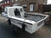 14ft Dijon fishing boat