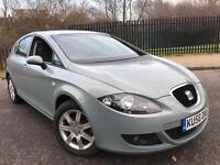 2006/56 Seat Leon Stylance 1.9 TDI 5DR Full Service History 11 Stamps 1F Keeper Mot AC Aux CD Alloys
