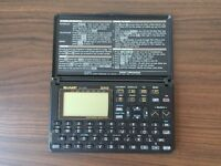 SHARP Electronic Organizer 32KB (ZQ-2200)