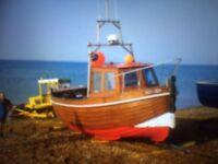 26 ft Hastings Clinker Fishing Boat