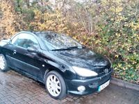 peugeot 206 cc - CLEAN TIDY GOOD CONDITION SMART LOOKING CAR-