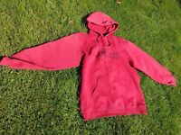 Fox Racing hoodie, muted red colour, size SMALL (women's)