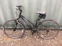 Great Trek 7100 bike for sale. We paid £350 for this bike and it has had little use.