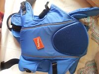 Baby carrier and pushchair
