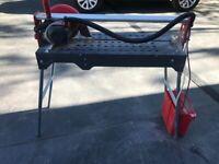 Rubi DU-200 EVO UK 230v Wet Saw Electric tile cutter