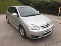 **TOYOTA COROLLA COLOUR COLLECTION 1.4 PETROL 5 DOOR HATCHBACK (2007 YEAR)**