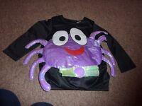 Halloween Spider Costume Age 2-3 Years