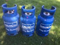 Calor 7kg Gas Bottle nearly full + Empty