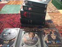 Full DVD & Full Book Set: Twilight Saga