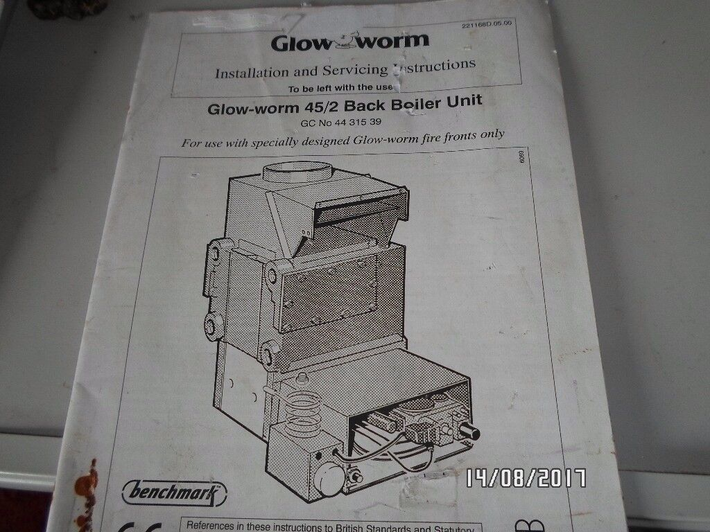 Glowworm BBU 45/2 back boiler unit - new & boxed | in Bolsover ...
