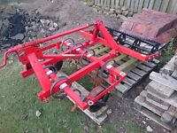 Spring tine cultivator (1.2m) for compact tractor