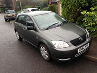 2002 Toyota Corolla T2 5 Dr