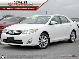 2012 Toyota Camry Hybrid XLE ONLY 59663 KMS!!