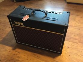 VOX AC15C1. Hardly used, not gigged. Too powerful for my flat! Looks as new