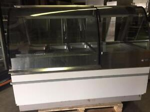 Henny Penny 3 Well  Hot Food Merchandiser Heated Display Case with 24 inch Self Serve