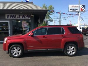 2014 GMC Terrain SLT BLACK LEATHER AND DARK RED BODY !!