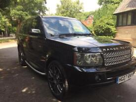Range Rover Sport, best specification, 3 TV's full leather AUTOMATIC low miles!