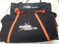 Vango Maritsa 700 Tent, Excellent condition. only used 2 Times.