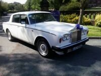 My own Rolls Royce Silver Shadow 2 , Used for weddings during last 3 years but no longer required